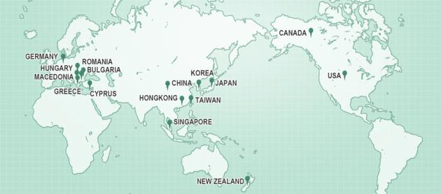 【GCDFは世界16ヶ国で採用】個人のキャリア支援のためにアメリカで生まれたキャリアカウンセリングの資格GCDF、アメリカ、日本、カナダ、中国、韓国、台湾、ドイツ、シンガポール、香港、ギリシャ、ニュージーランドなど世界16地域で採用されています。